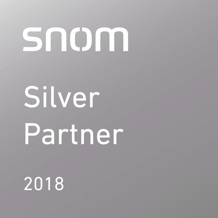 e8360948 snom_silver partner_c_2018_250px