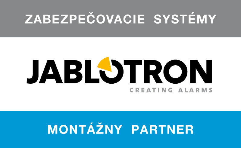 jablotron montazny partner